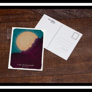 carte-postale Bretagne : dinard et la cote d'émeraude
