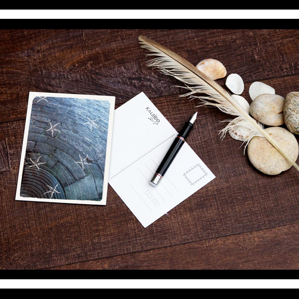 carte-postale Bretagne : granit bleu jean