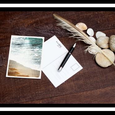 carte-postale Bretagne : mer et légendes