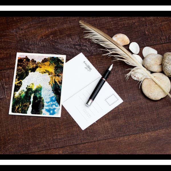 carte-postale Bretagne : brises-lames - saint-malo