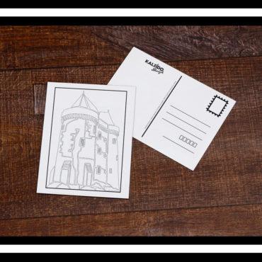 carte à colorier saint-servan solidor
